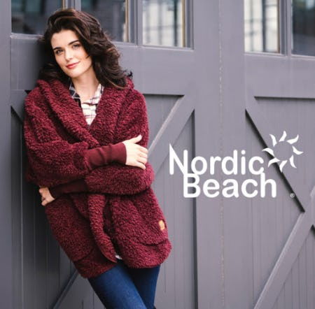 Get Wrapped up in Nordic Beach from Von Maur