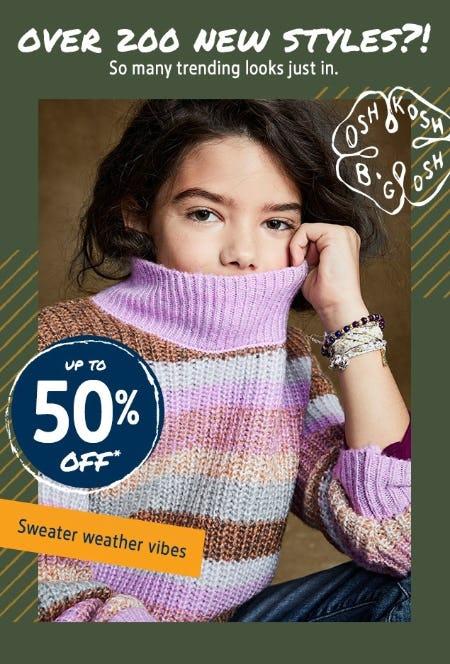 Up to 50% Off New Styles from Oshkosh B'gosh