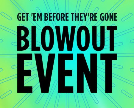 Blowout Event from Sears