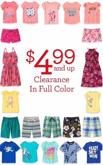 Clearance $4.99 & Up