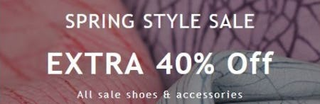 Extra 40% Off All Sale Shoes and Accessories