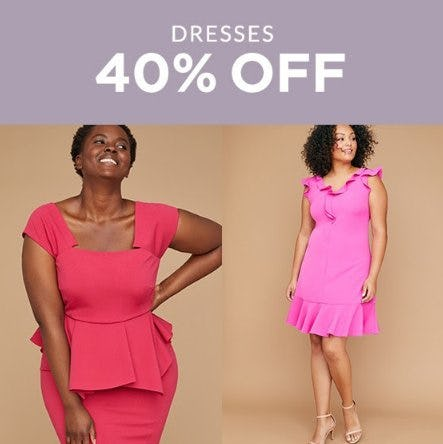 40% Off Dresses from Lane Bryant