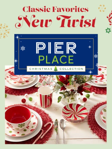 Pier Place Christmas Collection from Cost Plus World Market