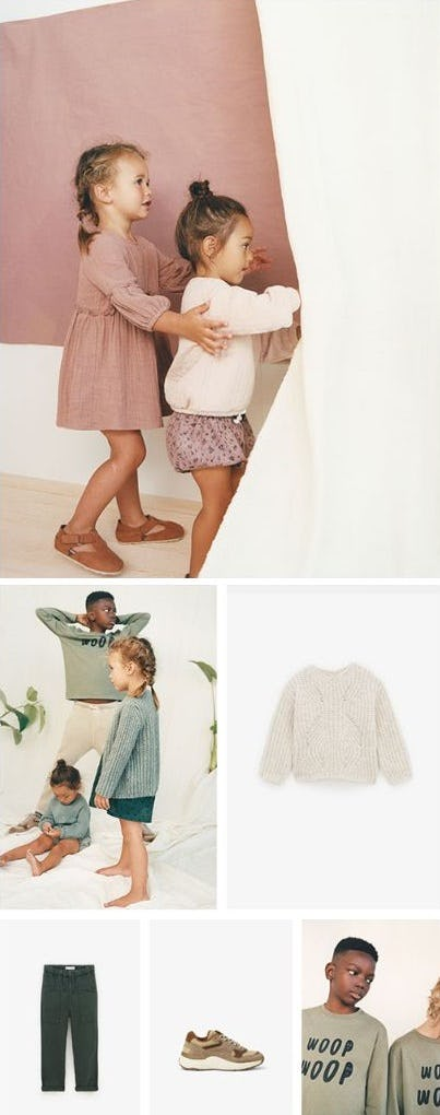 New Collection: Essentials for Kids from ZARA