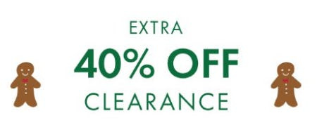 Extra 40% Off Clearance from Hanna Andersson