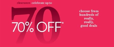 Up to 70% Off Clearance from Fred Meyer Jewelers