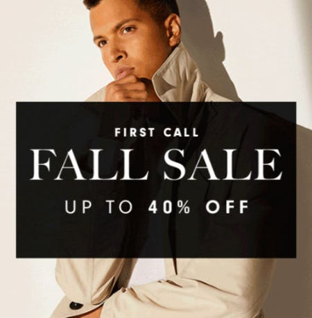 First Call Fall Sale Up to 40% Off from Neiman Marcus