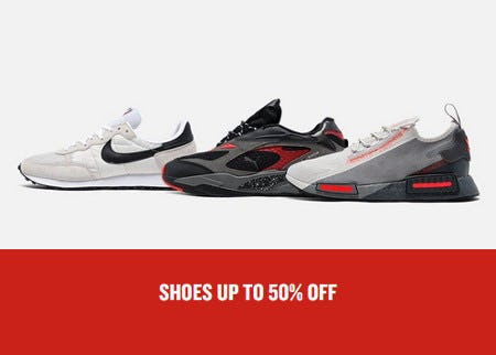 Shoes Up to 50% Off from JD Sports