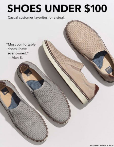 Shoes Under $100 from Johnston & Murphy