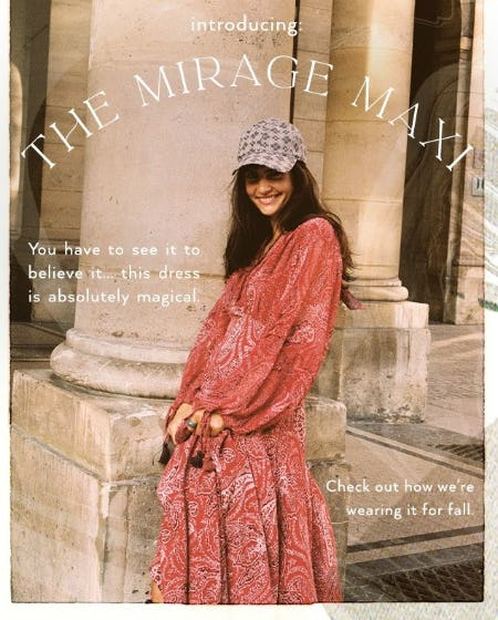 Introducing: The Mirage Maxi from Free People