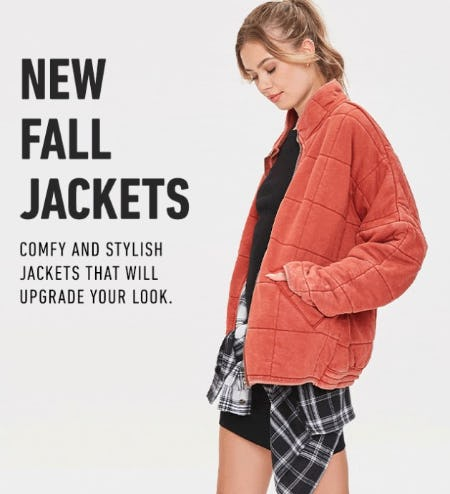 New Fall Jackets from Forever 21
