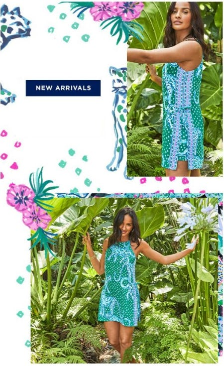 New Arrivals to Love from Lilly Pulitzer