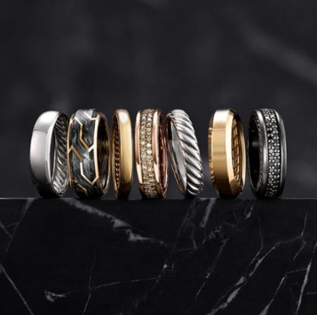 Men's Wedding Bands from David Yurman