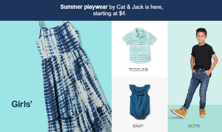 Summer Playwear Starting at $4 from Target