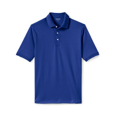 Men's Supima Polo Shirt from Lands' End