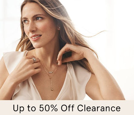 Up to 50% Off Clearance from Kay Jewelers