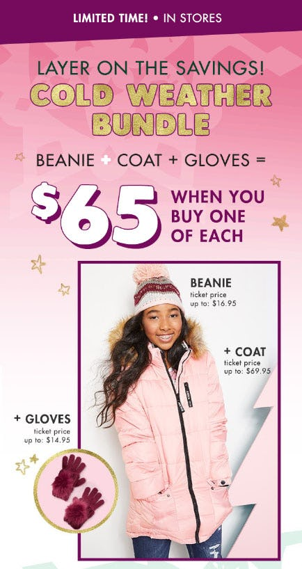 $65 Outerwear Bundle