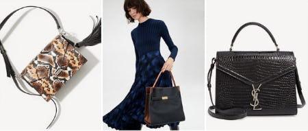Just In: So Many New Handbags