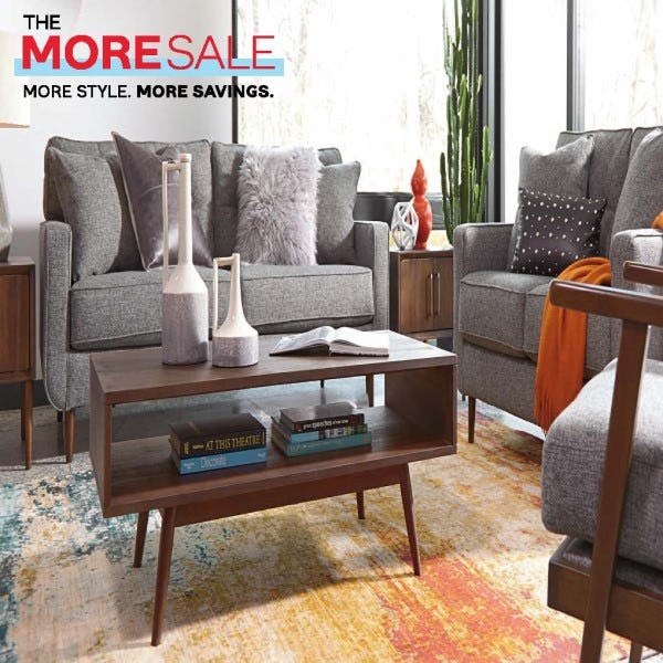 The Shops at Atlas Park | Sales | The More Sale! on home and more, furniture and more, shoes and more,