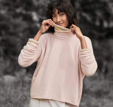 A Pastel Palette from Eileen Fisher