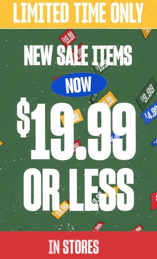 $19.99 or Less New Sale Items