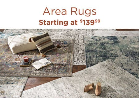 Area Rugs Starting at $139.99 from Kirkland's