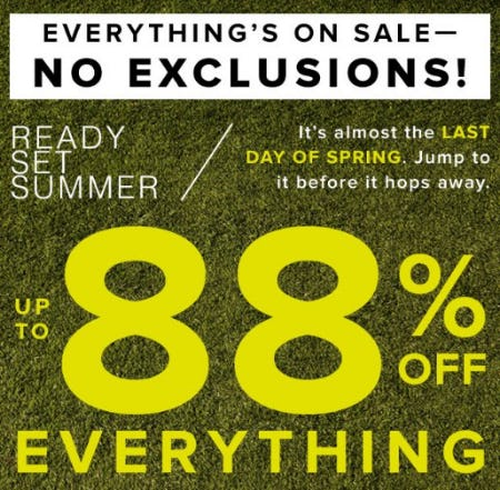 Up to 88% Off Everything from New York & Company