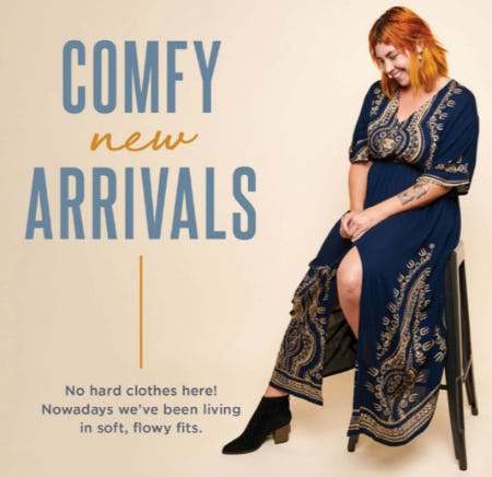 New Comfy Fall Arrivals from Earthbound Trading Company
