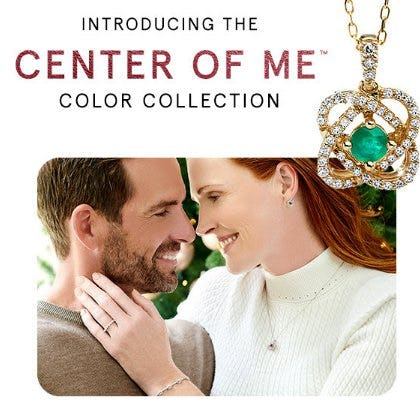 Introducing the Center of Me Color Collection from Kay Jewelers
