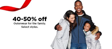 40-50% Off Outerwear from Kohl's