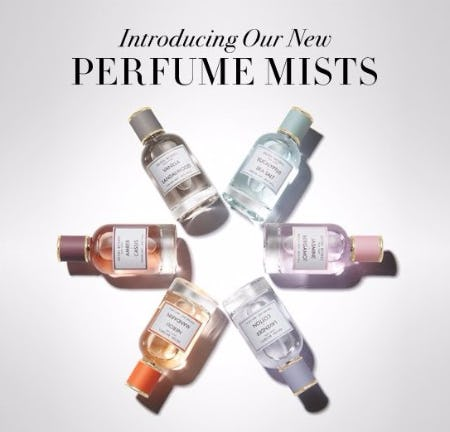 Introducing Our New Perfume Mists