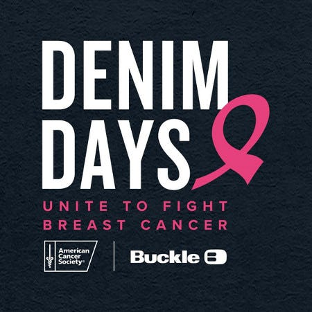 This October, unite with Buckle and the American Cancer Society in the fight against breast cancer