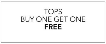 Tops Buy One, Get One Free
