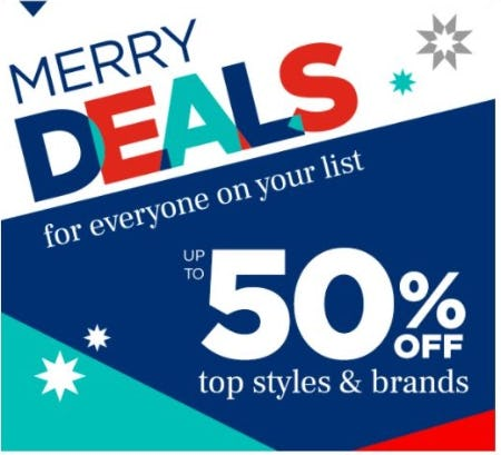 Up to 50% Off Tops Styles & Brands from Rack Room Shoes