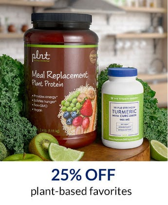 25% Off Plant-Based Favorites from The Vitamin Shoppe