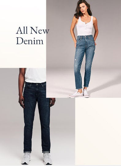 All New Denim from abercrombie