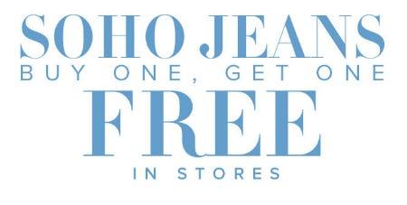 BOGO Free Soho Jeans from New York & Company