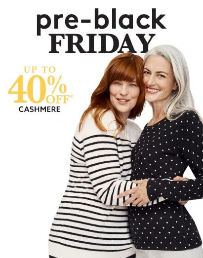 Up to 40% Off Pre-Black Friday from Lord & Taylor