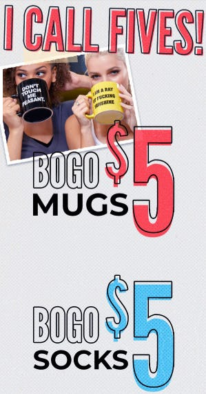 BOGO $5 Select Items