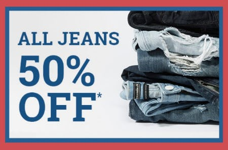 All Jeans 50% Off from Abercrombie & Fitch