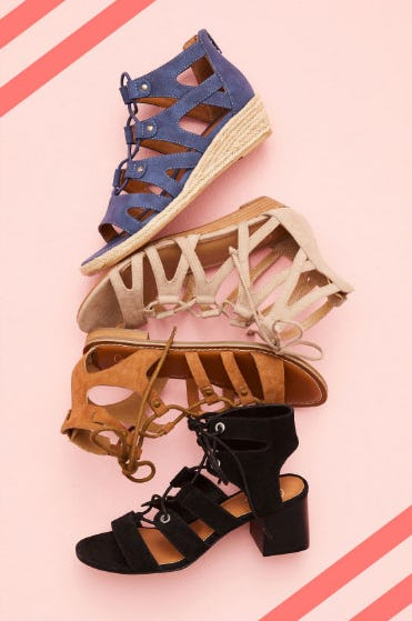 The Gladiator Sandals from DSW Shoes