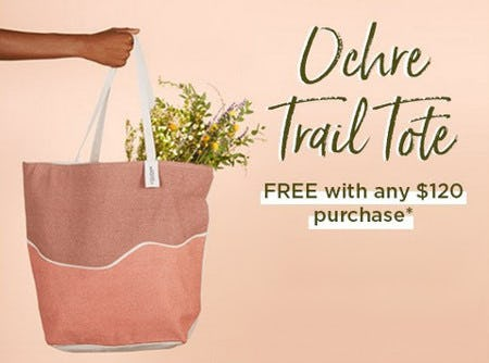 Ochre Trail Tote Free With Any $120 Purchase