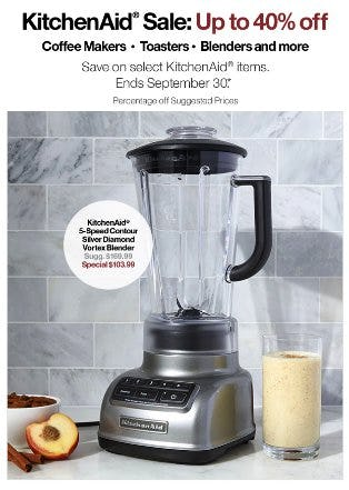 KitchenAid Sale: Up to 40% Off from Crate & Barrel