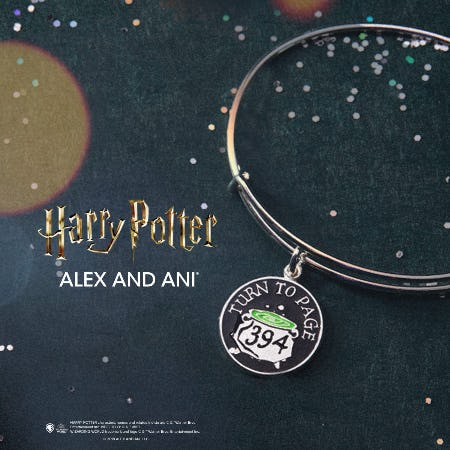 Harry Potter Bangle of the Month from ALEX AND ANI
