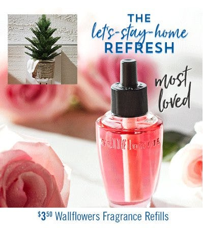 $3.50 Wallflowers Fragrance Refills from Bath & Body Works/White Barn