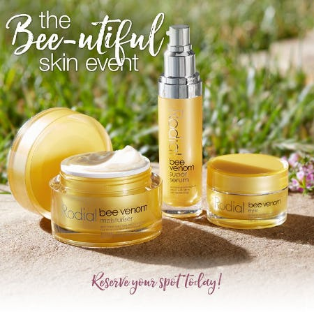 The Bee-UTIFUL Skin Event from Soft Surroundings