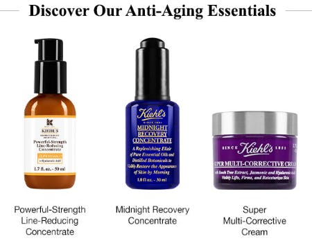 Discover Our Anti-Aging Essentials