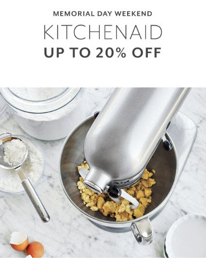 Up to 20% Off KitchenAid from Sur La Table