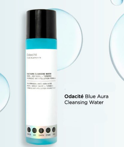 Odacite Blue Aura Cleansing Water