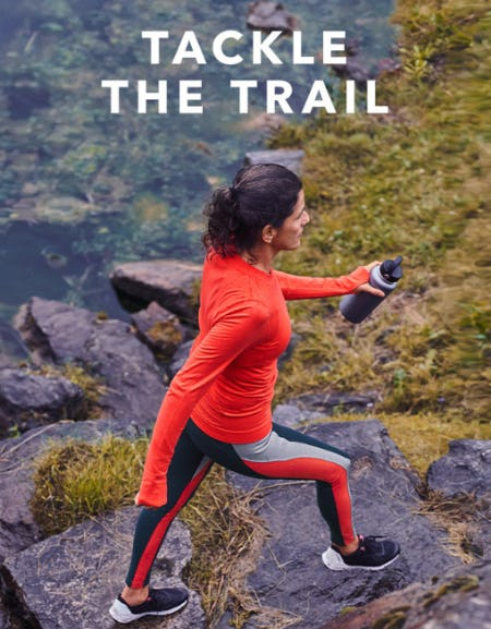 Tackle the Trail from Athleta